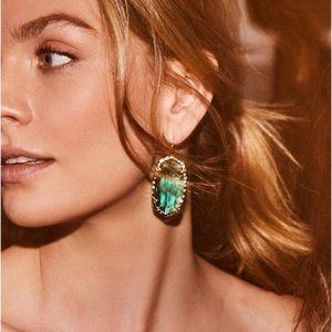 Kendra Scott Blue/ Silver Ella Earrings ✨
